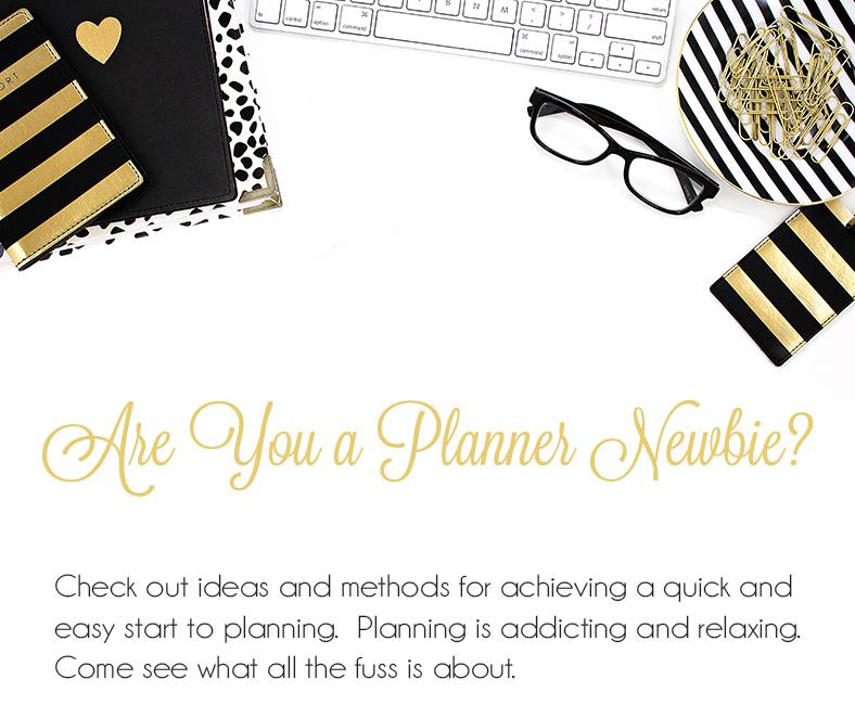 happy planner newbie