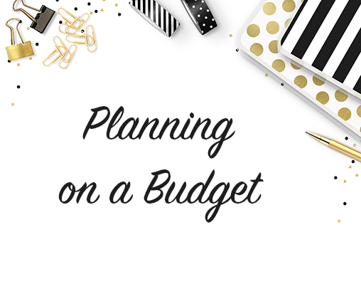 Planning with Happy Planner on a Budget