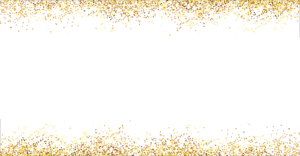 gold glitter back