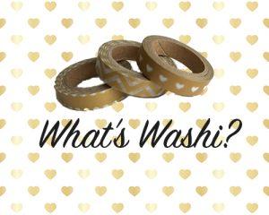 Whats Washi