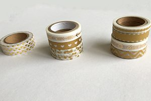 gold washi tape happy planner