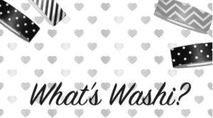 what's washi