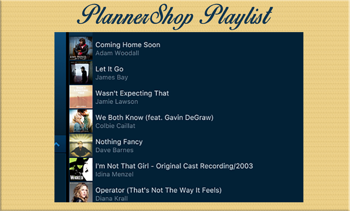Playlist for Planning