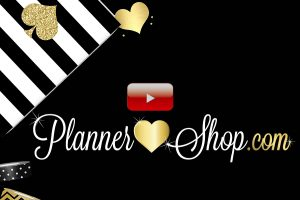 You tube Planner Shop Intro for Subscribe