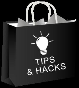 bag planner hacks bag black