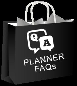 bag planner faqs black 1