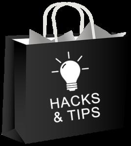 bag planner hacks bag black 400