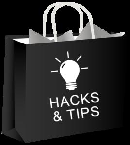 bag planner hacks bag black 600